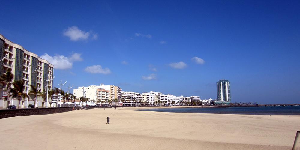 Playa del Reducto - Stadtstrand von Arrecife