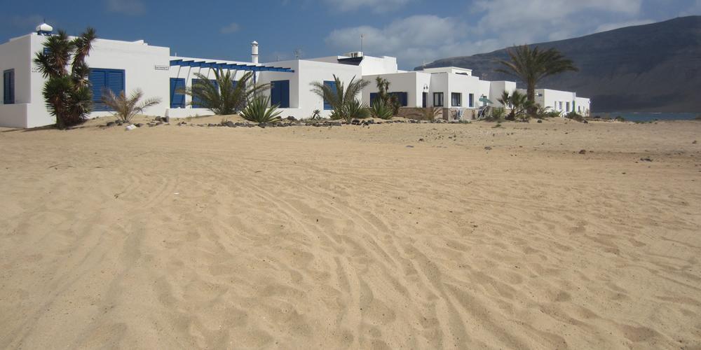 Apartments, Pensionen, Camping, Hotel ... auf La Graciosa