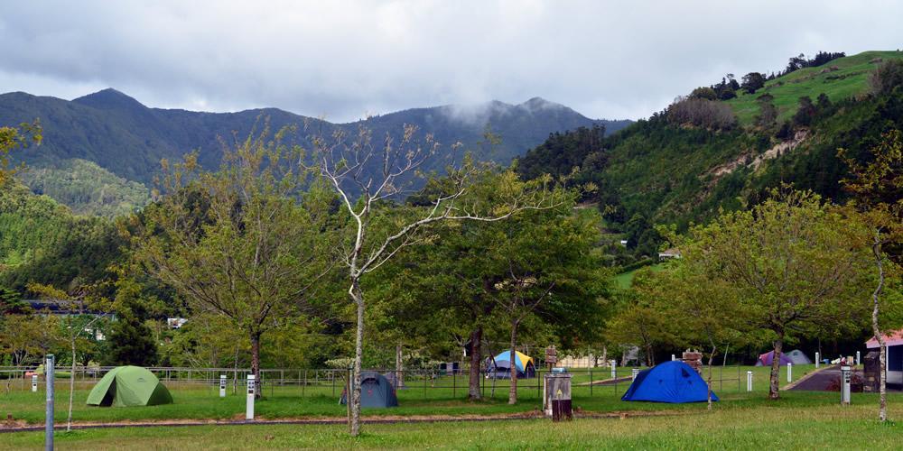 Zelten und Camping auf Sao Miguel