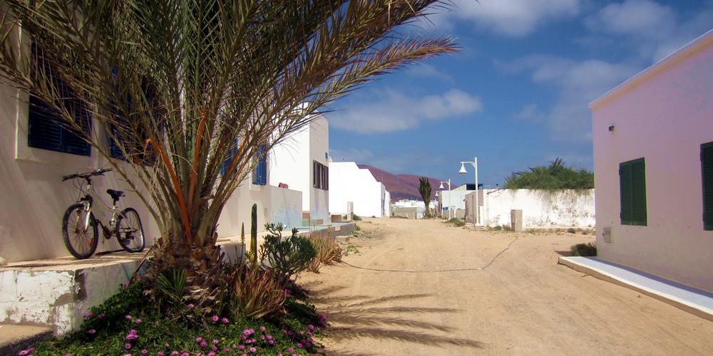 Dorfstrasse auf La Graciosa