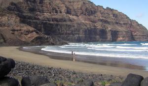 Playa de la Canteria - Der nördlichste Strand auf Lanzarote