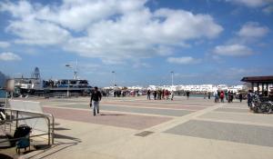 Hafen von La Graciosa