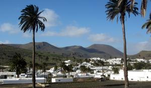 Haria im Tal der 1000 Palmen auf Lanzarote