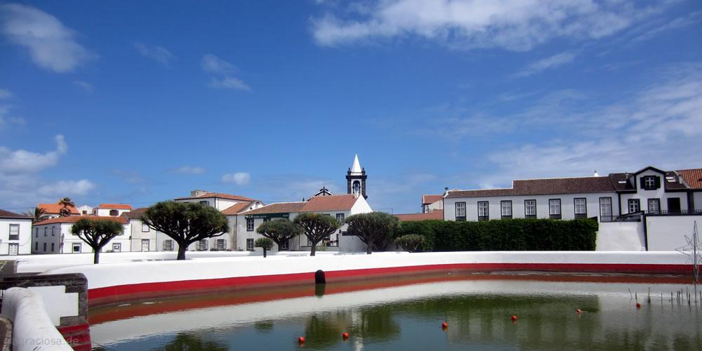 Santa Cruz da Graciosa - Die kleine Hauptstadt von Graciosa.